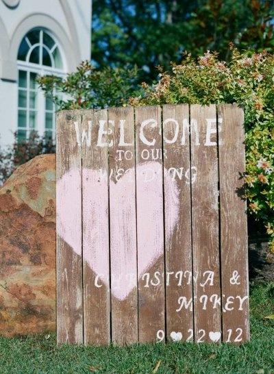 Cute Wedding Signs.