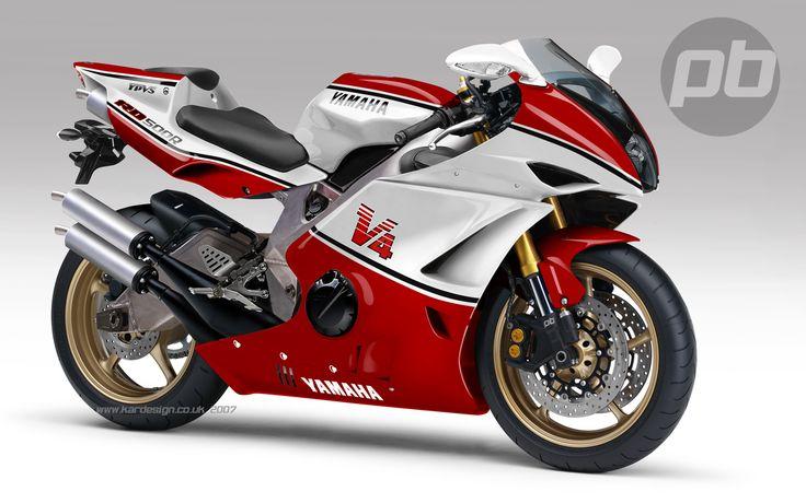 2 Stroke V4 500 cc