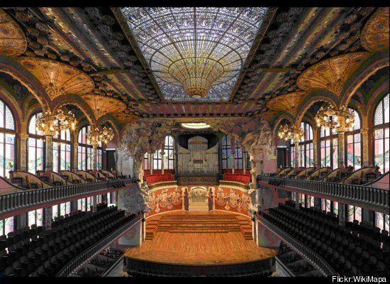 Palau de la Musica Catalana in Barcelona