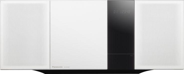 Panasonic SC-HC49EG-W Design Micro System (CD Spieler, Apple iPhone 5 Dock, RDS, Bluetooth, NFC, 40 Watt, wandmontagefähig, USB) weiß: Panasonic: Amazon.de: Heimkino, TV & Video