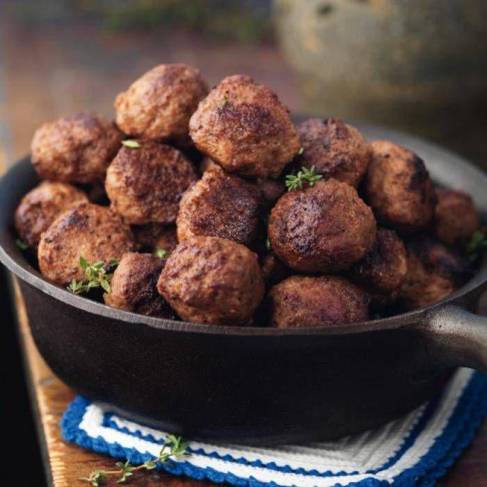 Köttbullar -klassiskt recept