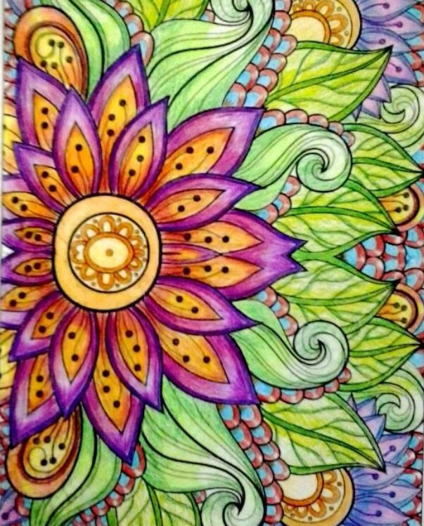 871 Best Adult Coloring Images On Pinterest