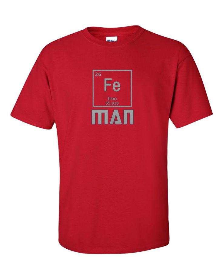 Iron Man T-Shirt, Men's shirt by Spirit West Designs