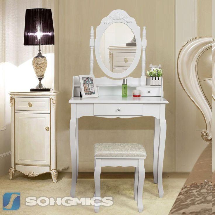 25 best ideas about schminktisch mit hocker on pinterest. Black Bedroom Furniture Sets. Home Design Ideas