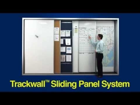 109 beste afbeeldingen over work space inspirations op for Sliding wall track