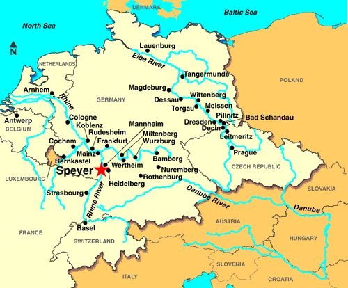 Speyer, germany | Speyer, Germany - Discount Cruises, Last-Minute Cruises, Short Notice ...