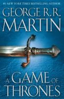 Game of Thrones | George R.R. Martin.   The 1st of a totally addictive series, this book makes fantasy read like a historical political thriller... ~KK-D