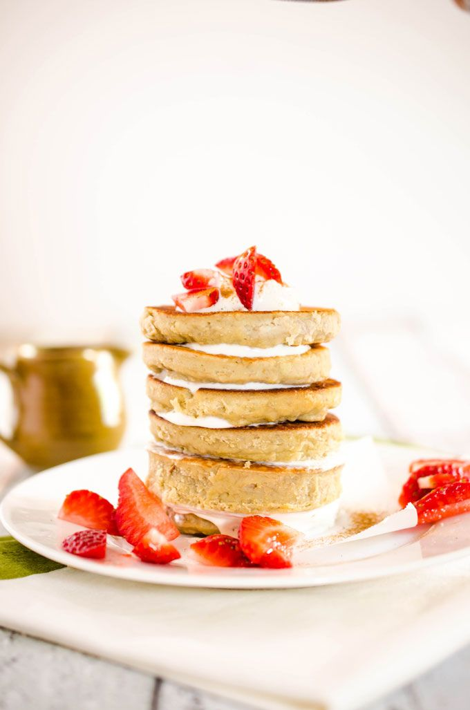 Grain-Free Pancakes! Packed with Protein - the perfect breakfast treat