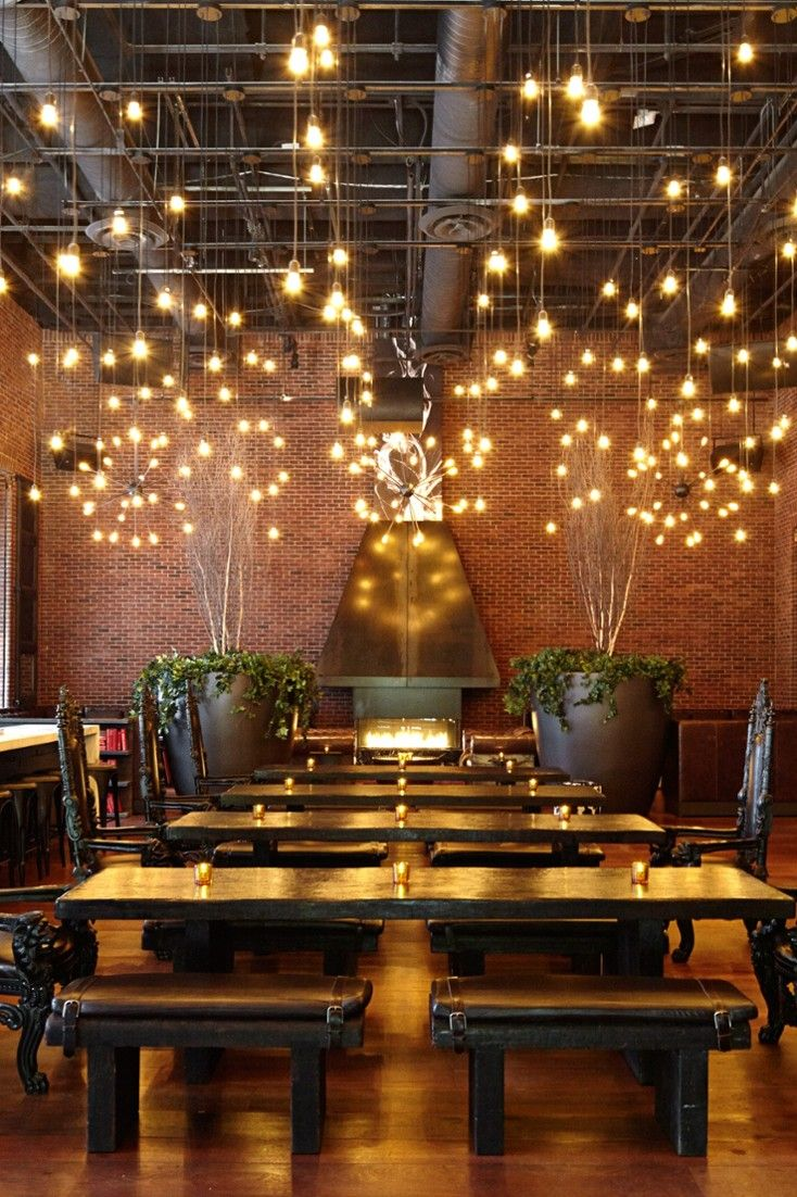 A modern take on a beer garden and burger joint, Hudson Common serves craft brews. #Jetsetter Hudson New York