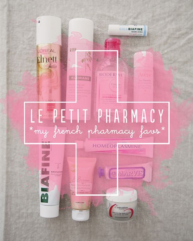 French Pharmacy Faves | The Kitchy Kitchen