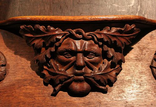 greenman in norwich cathedral