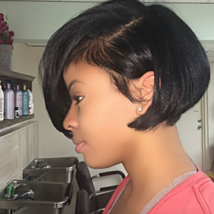 bob haircuts for black hair 25 best ideas about cuts on longer 1417 | 15c92a6f8a77898b15d7f60361a25886 pretty hairstyles weave hairstyles