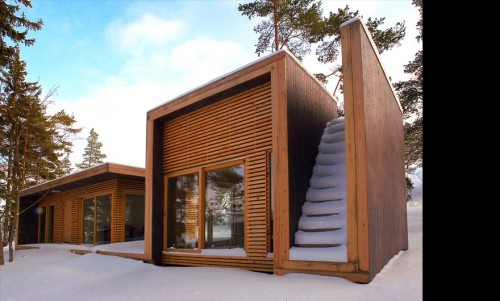 Aaland Summerhouse by Todd Saunders