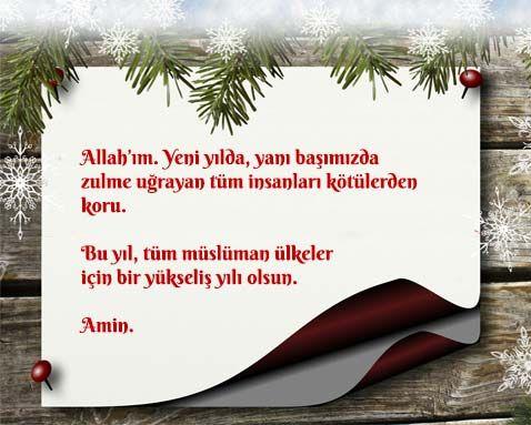 Müslümanlar için Yılbaşı Mesajları