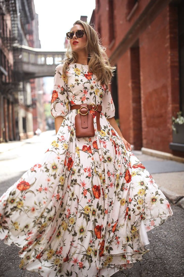 If You Missed It Walmart S Fall Dress Section Is Great Shop Our 7 Faves Under 23 Print Chiffon Maxi Dress Maxi Dresses Casual Maxi Dress With Sleeves [ 1094 x 728 Pixel ]
