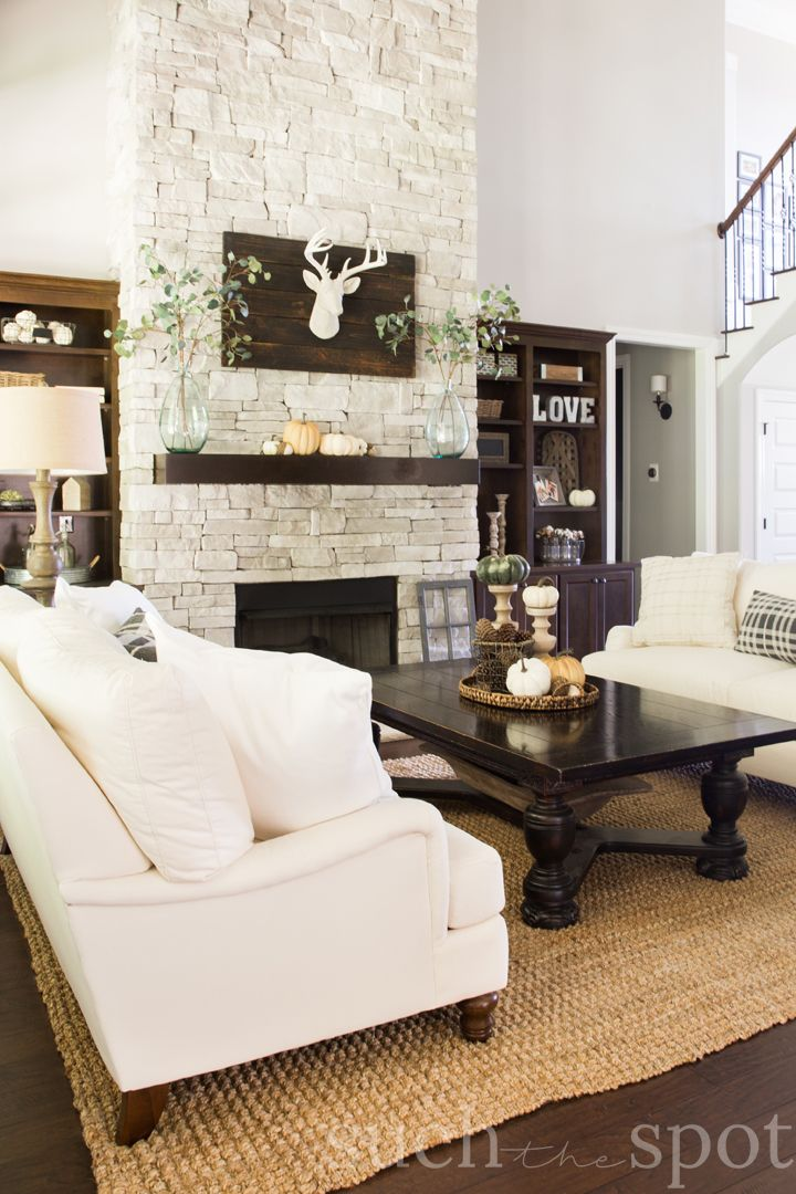 Fall Decorating Ideas Home Tour Such The Spot Living Room