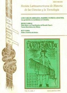 Volumen 11, núm. 1, enero-abril 1994. Artículos: Las geometrías no euclidianas en Colombia. La apuesta euclidiana del profesor Julio Garavito (18651920), Luis Carlos Arboleda y Maribel Patricia Anacona, pp. 7‑24....