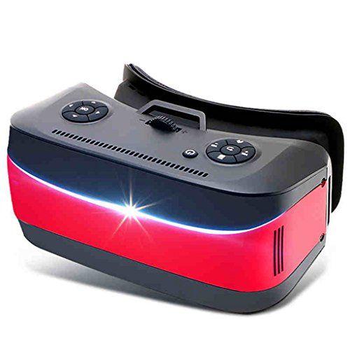 Procesador de CPU de 8 núcleos VR One Machine Gafas Vr 3D Gafas de realidad virtual 3D Casco de juego de teatro con auriculares 4K de decodificación Sensor de nueve ejes