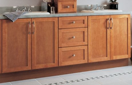 17 best ideas about unfinished bathroom vanities on - Unfinished shaker bathroom vanity ...