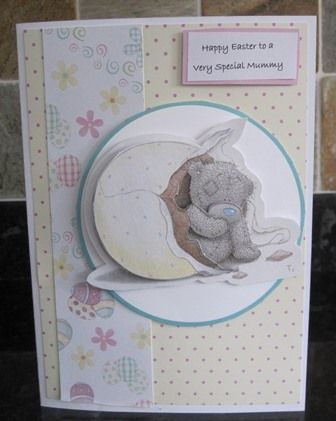 Docrafts Me to You (Tatty Teddy) Spring Collection papercraft Kit