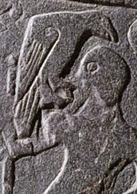 Unknown deity with raven, Isle of MannUnknown Deities, Isle Of Mann, Black Birds, Kirk Andrea, Celtic Ravens
