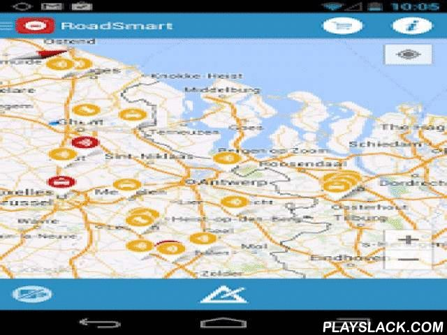 Roadsmart  Android App - playslack.com ,  All traffic information on your Smartphone! 24/7 Live monitoring. The application can be downloaded and used for free. Unlike many other traffic applications, this service is guaranteed thanks to the great community behind it. To use all the functionalities within the application, only €3.59 per month, €16.99 per 6 months or €27.99 a year will be charged!FEATURES RoadSmart! PREMIUM- Completely new user interface- In-app alerts - Retrieving traffic…