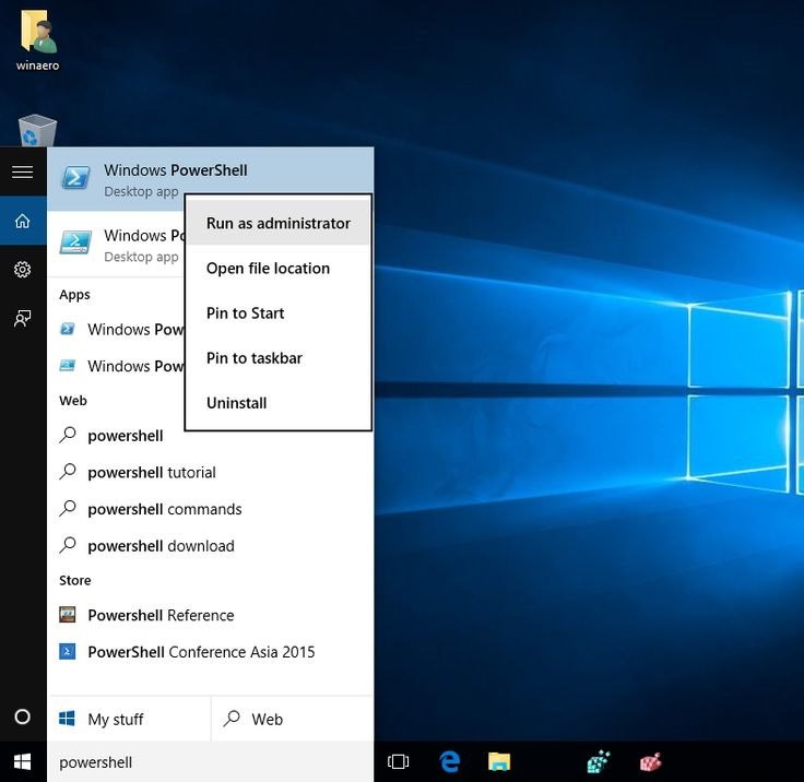 How to restore Windows Store in Windows 10 after removing it with PowerShell. windows 10 powershell run as administrator