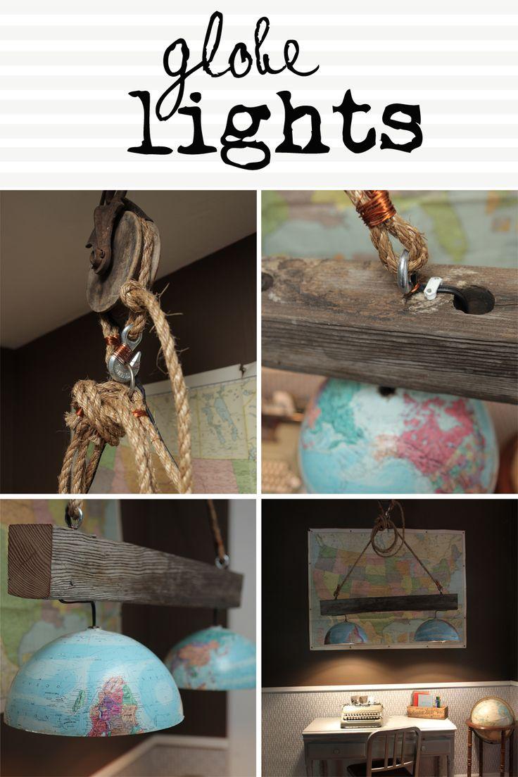 Great Ideas 17 DIY Decorating Solutions {5 Globe light