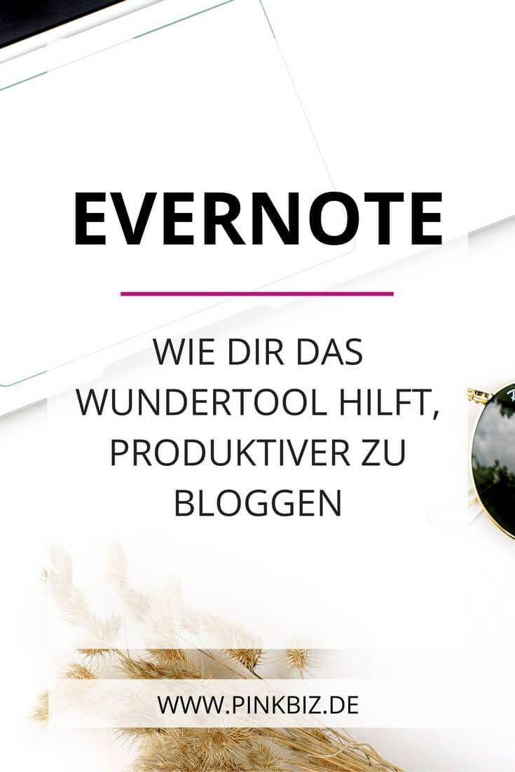 Mit Evernote sparst du viel Zeit beim Bloggen! Von der Ideenfindung, übers Schreiben bis zum Archiv – mit diesem Wundertool sorgst du für den optimalen Workflow!