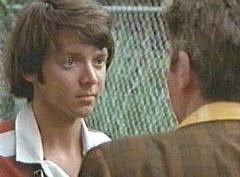 Bud Cort in a scene from Brewster McCloud by Robert Altman.