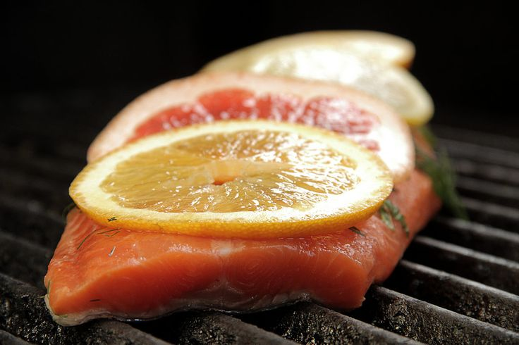 Recipes - Citrus Grilled Salmon from elle cuisine catering