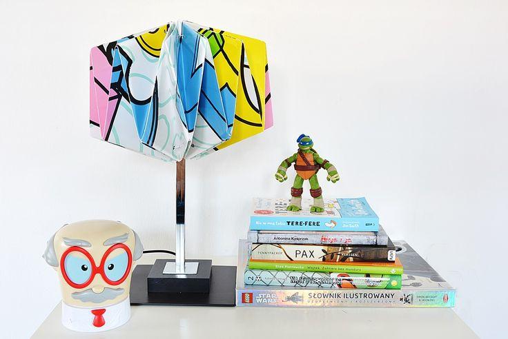 Lampa Origami w nowoczesnym stylu