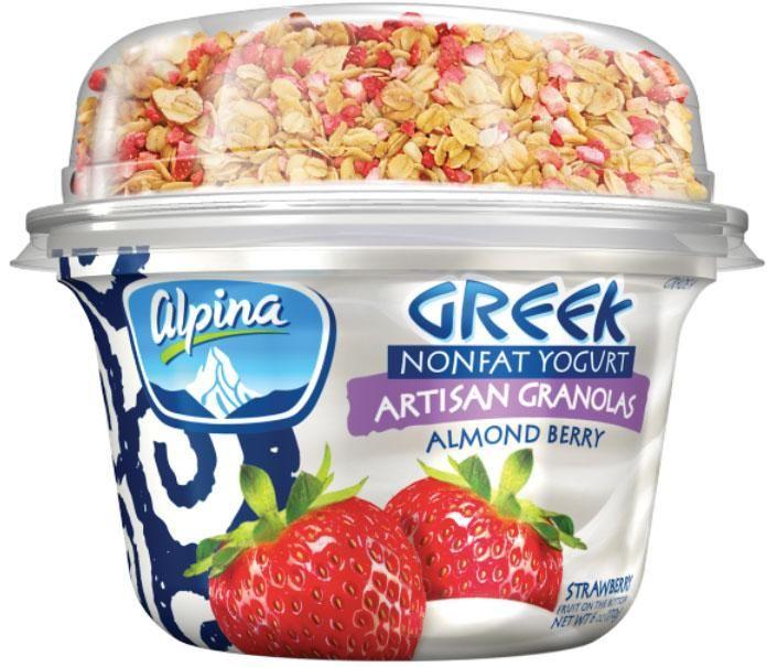 Alpina Greek Yogurt - Almond berry