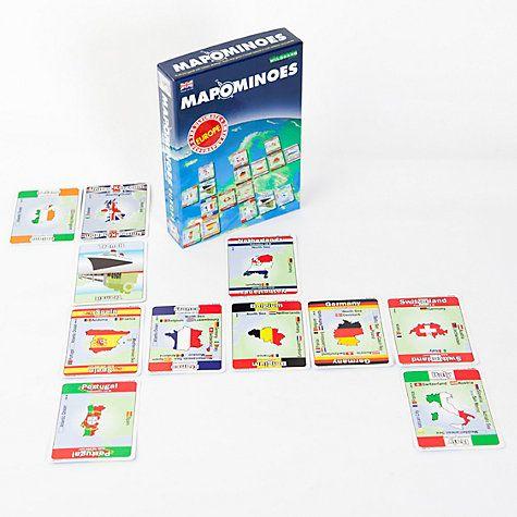 Buy Wildcard Games Mapominoes Europe Dominoes Card Game Online at johnlewis.com