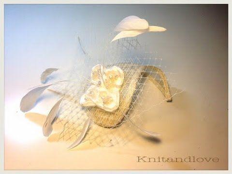 M El material para el tocado lo he comprado en http://materialesparatocados.com/ Gracias por visitar mi canal más videos y tutoriales en mi blog www.knitandlov...