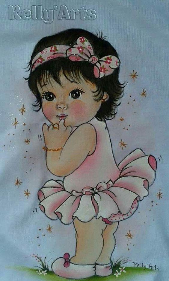 pinterest pinturas em fraldas bebes negras - Pesquisa Google