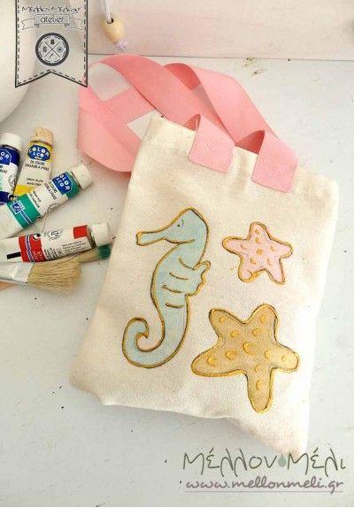 Mini shopping bag Ιππόκαμπος