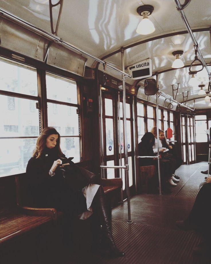 In tram a Milano #tram #milan #vintage