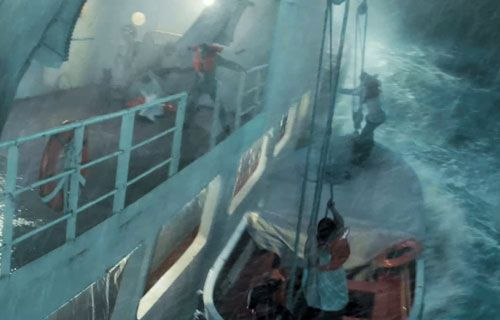 Life of Pi. The storm