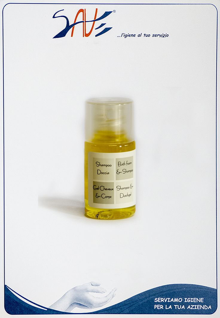 Shampoo doccia flacone in pet da 20 ml per alberghi, agriturismi, b&b, resort e strutture ricettive. Singola confezione da 50 pezzi cadauno.