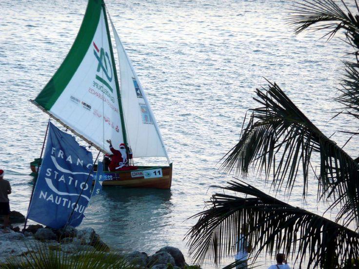 le pere noel vous salue -  Photos de vacances de Antilles Location #Guadeloupe