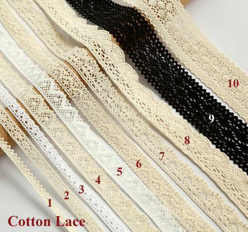 5 ياردة/الكثير جيد جودة القطن الدانتيل للملابس الدانتيل تقليم الملحقات الخياطة سكرابوكينغ الرباط الزينة (ss-865)