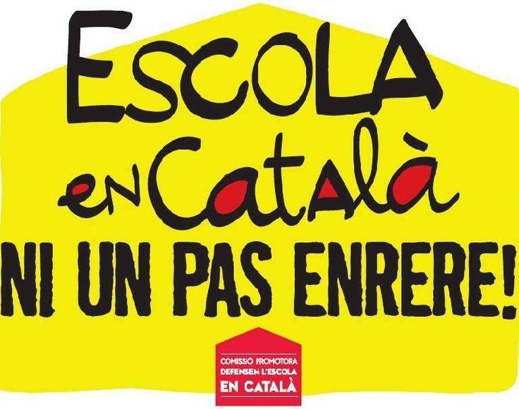 escola en català ni un pas enrere!