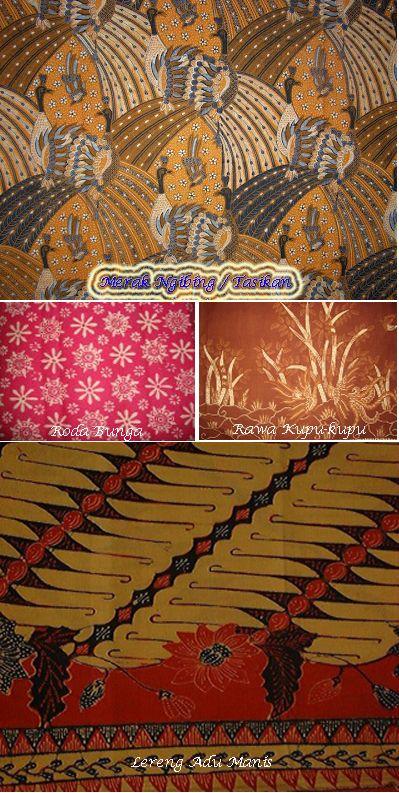 Batik tasik, unik, cantik dan menarik