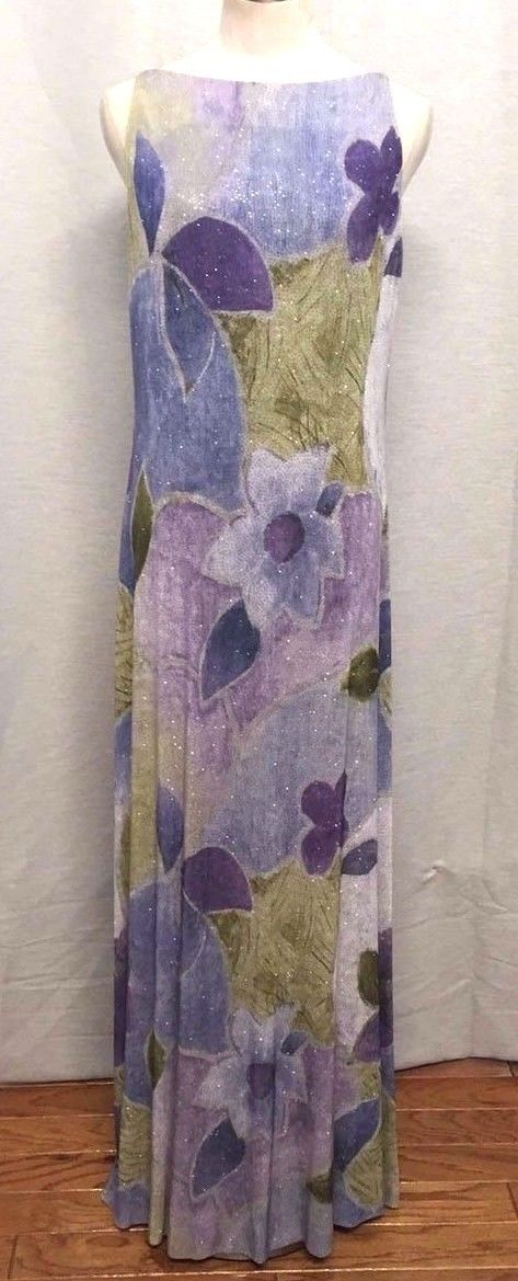 "Nice Awesome LILLIE RUBIN 14 Gown & Stole Vtg Sleeveless Multi Sparkle Purple Mauve Green 40""  Cool Check more at http://24shopping.cf/my-desires/awesome-lillie-rubin-14-gown-stole-vtg-sleeveless-multi-sparkle-purple-mauve-green-40-cool-2/"