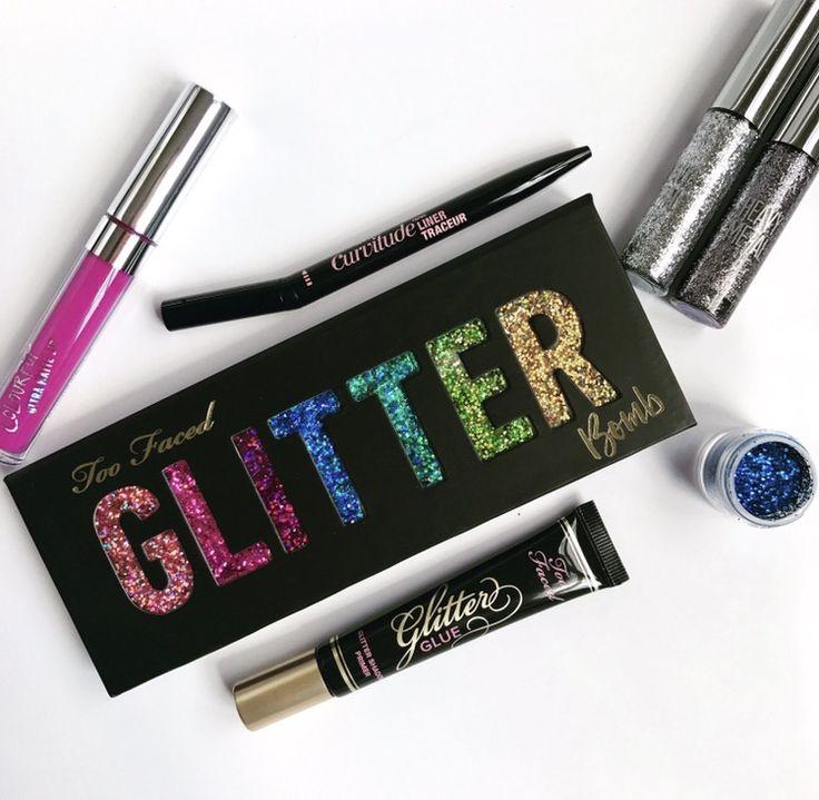 Glitter bomb palette glitter bomb glitter lipstick