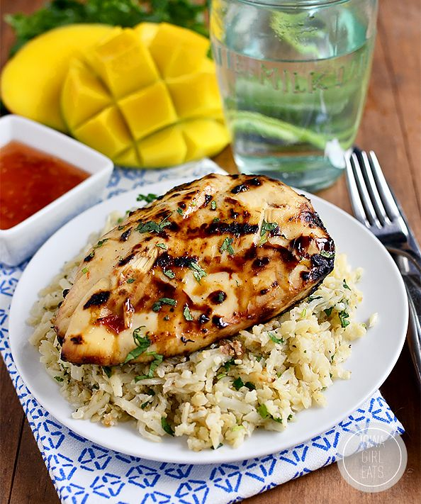 Rice, Girls Eating, Chilis Coconut Lim, Grilled Chicken, Grilled ...