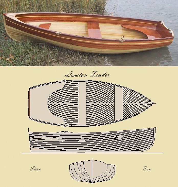 'The Lawton Tender' Row Boat Kit