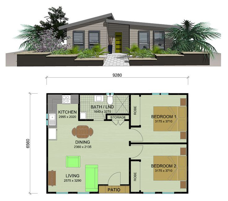 How much does a 2 bedroom granny flat cost www for Cost to build a two bedroom house