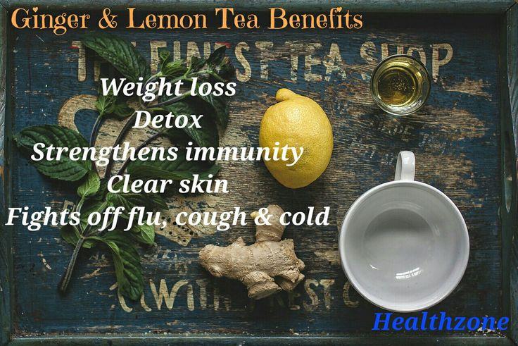 #healthzone #follow #personaltrainer #tea #ginger #benefits #drink #detox